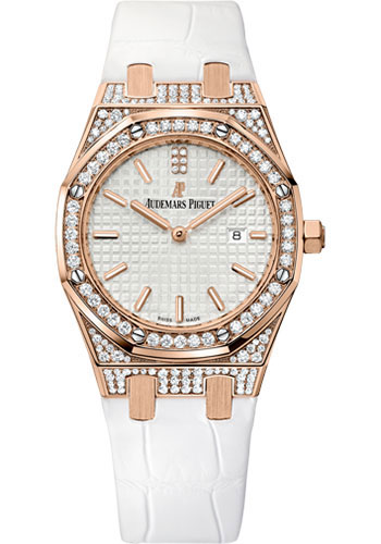 Audemars Piguet Watches - Royal Oak Quartz 33mm - Pink Gold - Style No: 67652OR.ZZ.D011CR.01