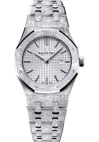 Audemars Piguet Watches - Royal Oak Quartz 33mm - White Gold - Style No: 67653BC.GG.1263BC.01