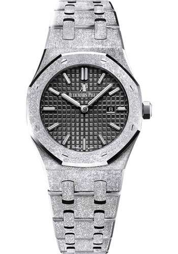 Audemars Piguet Watches - Royal Oak Quartz 33mm - White Gold - Style No: 67653BC.GG.1263BC.02