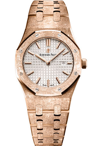 Audemars Piguet Watches - Royal Oak Quartz 33mm - Pink Gold - Style No: 67653OR.GG.1263OR.01