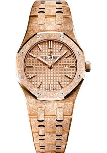 Audemars Piguet Watches - Royal Oak Quartz 33mm - Pink Gold - Style No: 67653OR.GG.1263OR.02
