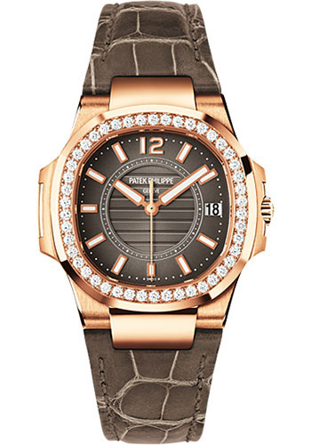 Patek Philippe Watches - Nautilus 32mm - Rose Gold - Style No: 7010R-010