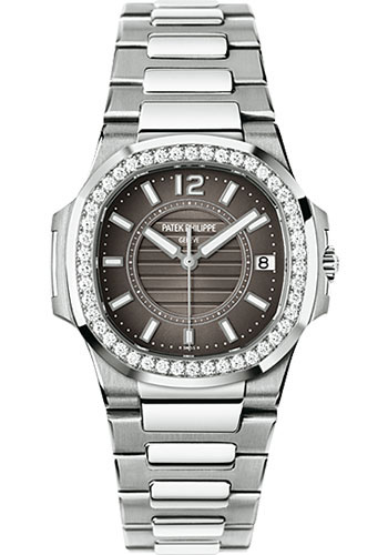 Patek Philippe Watches - Nautilus Ladies White Gold - Style No: 7010/1G-010