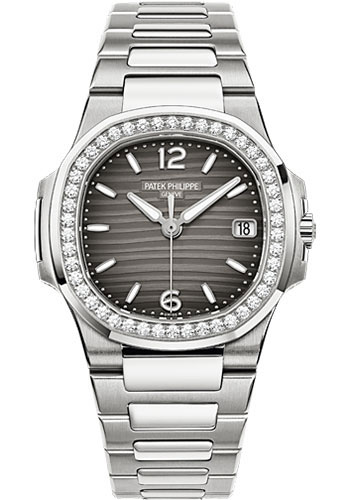 Patek Philippe Watches - Nautilus Ladies White Gold - Style No: 7010/1G-012