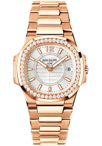 Patek Philippe Watches - Nautilus Ladies Rose Gold - Style No: 7010/1R-001