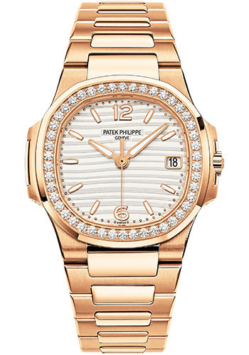 Patek Philippe Watches - Nautilus 32mm - Rose Gold - Style No: 7010/1R-011