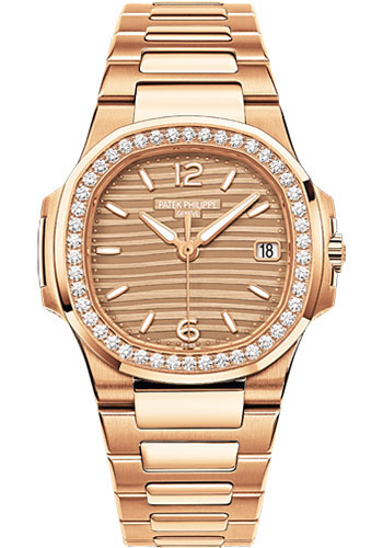 Patek Philippe Watches - Nautilus 32mm - Rose Gold - Style No: 7010/1R-012