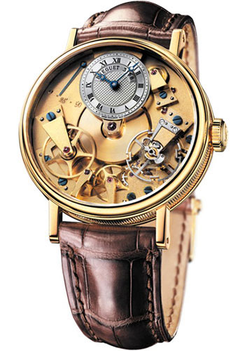 Breguet Watches - Tradition 37mm - Yellow Gold - Style No: 7027BA/11/9V6
