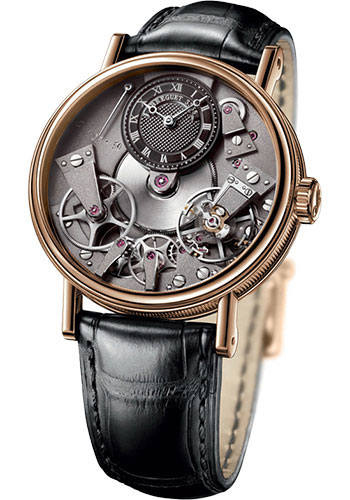 Breguet Watches - Tradition 37mm - Rose Gold - Style No: 7027BR/G9/9V6