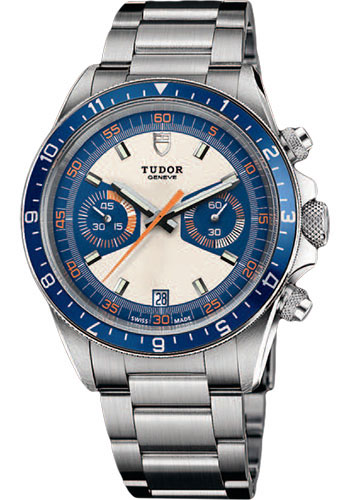 Tudor Watches - Heritage Chrono Blue - Style No: 70330B-95740