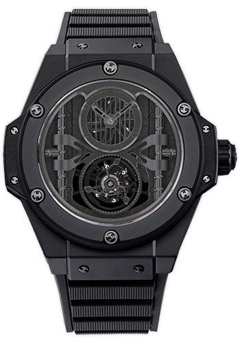 Hublot Watches - Big Bang King Power 48mm All Black Tourbillon - Style No: 705.CI.0007.RX