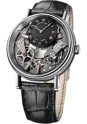 Breguet Watches - Tradition 40mm - White Gold - Style No: 7057BB/G9/9W6