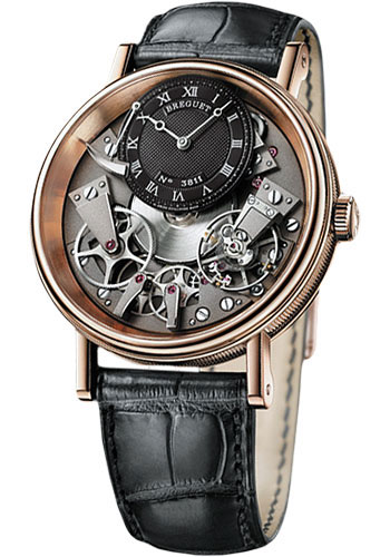 Breguet Watches - Tradition 40mm - Rose Gold - Style No: 7057BR/G9/9W6