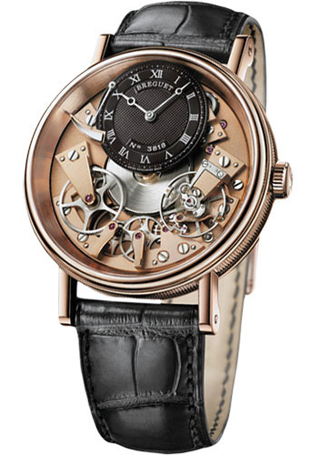 Breguet Watches - Tradition 40mm - Rose Gold - Style No: 7057BR/R9/9W6