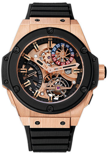 Hublot Watches - Big Bang King Power 48mm Tourbillon GMT - Style No: 706.OM.1180.RX