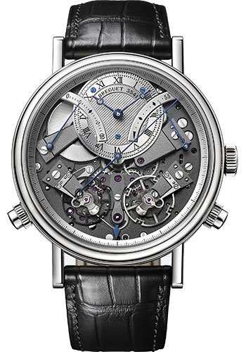Breguet Watches - Tradition 7077 - Chronograph Independent - 44mm - Style No: 7077BB/G1/9XV