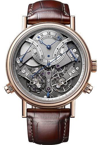 Breguet Watches - Tradition 7077 - Chronograph Independent - 44mm - Style No: 7077BR/G1/9XV
