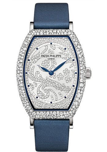 Patek Philippe Watches - Gondolo Ladies White Gold - Style No: 7099G-001