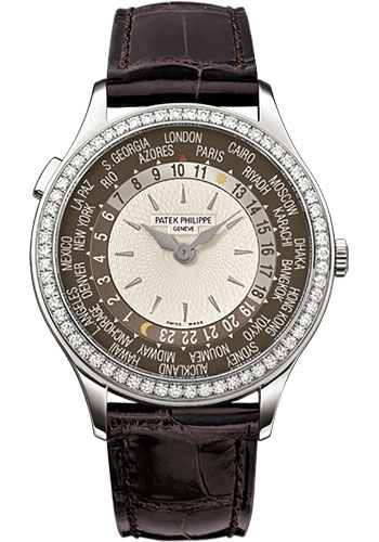 Patek Philippe Watches - Complications Ladies World Time - Style No: 7130G-010