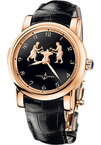 Ulysse Nardin Watches - Classic Minute Repeater Forgerons - Style No: 716-61/E2