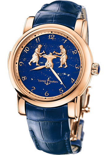 Ulysse Nardin Watches - Classic Minute Repeater Forgerons - Style No: 716-61/E3