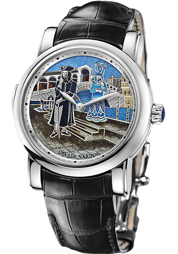 Ulysse Nardin Watches - Classic Minute Repeater Carnival of Venice - Style No: 719-63/VEN
