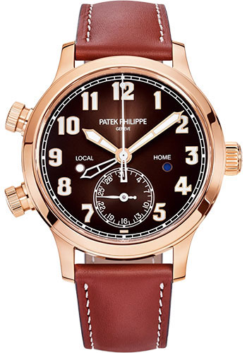 Patek Philippe Watches - Complications Calatrava Pilot Travel Time - Style No: 7234R-001