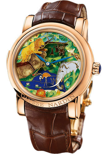 Ulysse Nardin Watches - Classic Minute Repeater Safari Jaquemarts - Style No: 726-61