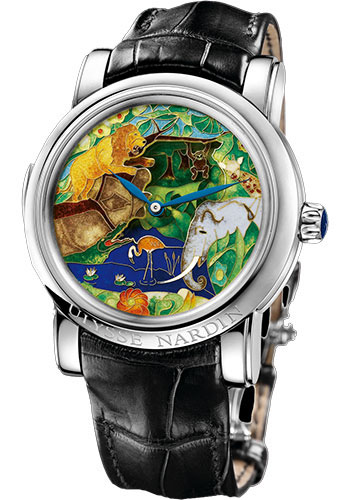 Ulysse Nardin Watches - Classic Minute Repeater Safari Jaquemarts - Style No: 729-61