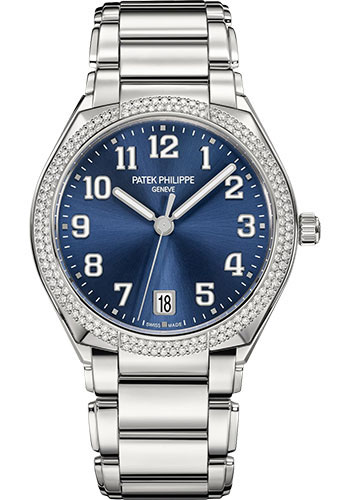 Patek Philippe Watches - Twenty-4 Round - 36mm - Stainless Steel - Style No: 7300/1200A-001