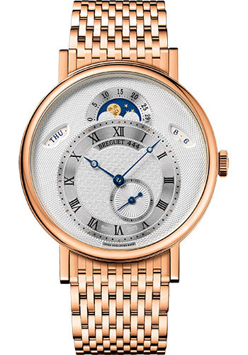 Breguet Watches - Classique 7337 - Moon Phases - 39mm - Style No: 7337BR/1E/RV0