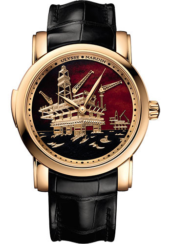 Ulysse Nardin Watches - Classico Minute Repeater - Style No: 736-61/E2-OIL