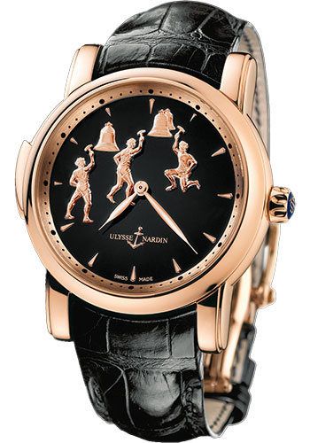 Ulysse Nardin Watches - Classic Minute Repeater Triple Jack - Style No: 736-61/E2