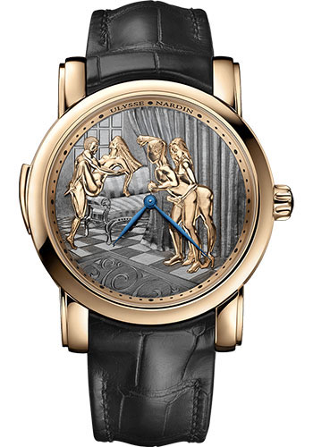 Ulysse Nardin Watches - Classico Minute Repeater - Style No: 736-61/VOYEUR