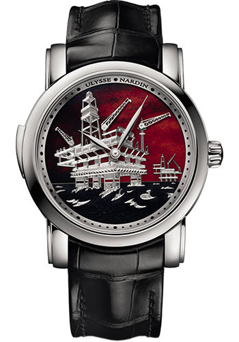 Ulysse Nardin Watches - Classic Minute Repeater Oil - Style No: 739-61/E2-OIL