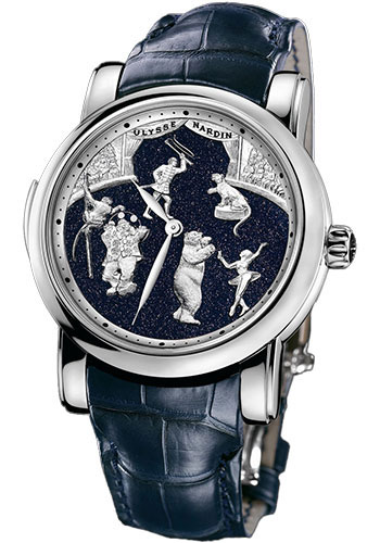 Ulysse Nardin Watches - Classic Minute Repeater Circus - Style No: 740-88