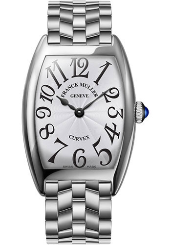 Franck Muller Watches - Cintre Curvex - Quartz - 29 mm Stainless Steel - Bracelet - Style No: 7502 QZ O AC White