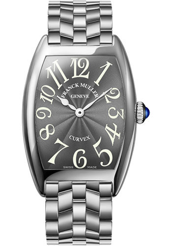 Franck Muller Watches - Cintre Curvex - Quartz - 29 mm Platinum - Bracelet - Style No: 7502 QZ O PT Grey