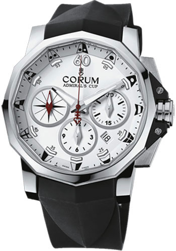 Corum Watches - Admiral's Cup Challenger 44 Chrono Stainless Steel - Style No: 753.671.20/F371 AA52