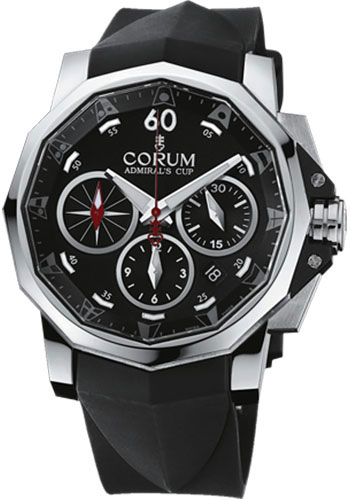 Corum Watches - Admiral's Cup Challenger 44 Chrono Stainless Steel - Style No: 753.671.20/F371 AN52