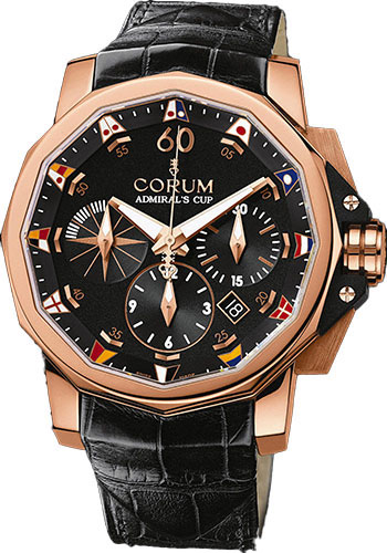 Corum Watches - Admiral's Cup Challenge 44 Gold - Style No: 753.691.55/0081 AN92