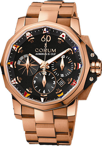 Corum Watches - Admiral's Cup Challenge 44 Gold - Style No: 753.691.55/V700 AN92