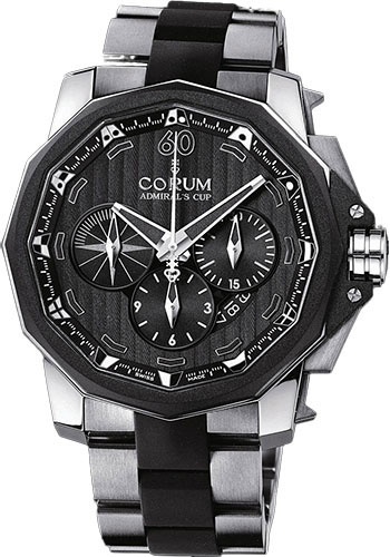 Corum Watches - Admiral Chronograph 48 mm - Titanium - Style No: A753/00669 - 753.935.06/V791 AN52