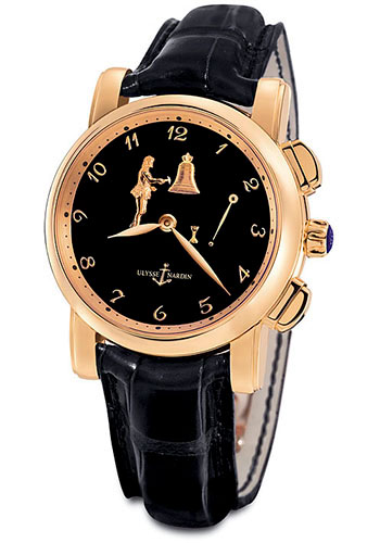 Ulysse Nardin Watches - Classic Hourstriker 42mm - Style No: 6106-103/E2