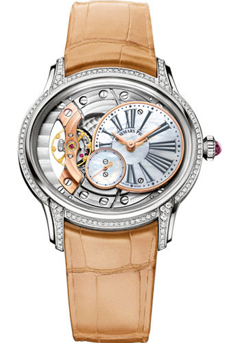 Audemars Piguet Watches - Millenary Hand-Wound - Style No: 77247BC.ZZ.A813CR.01