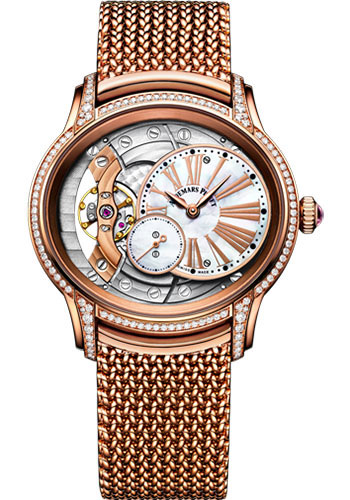 Audemars Piguet Watches - Millenary Hand-Wound - Style No: 77247OR.ZZ.1272OR.01