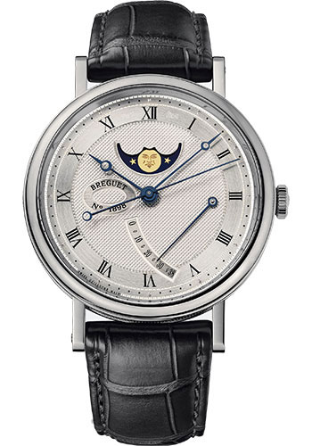 Breguet Watches - Classique 7787 - Moon Phases - 39mm - Style No: 7787BB/12/9V6