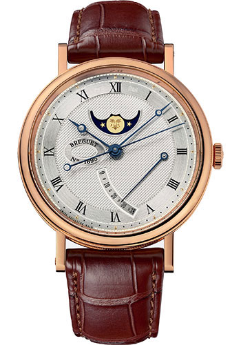 Breguet Watches - Classique 7787 - Moon Phases - 39mm - Style No: 7787BR/12/9V6