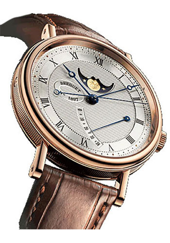 Breguet Watches - Classique Moon Phases 39mm - Rose Gold - Style No: 7787BR/12/9V6