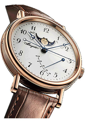 Breguet Watches - Classique Moon Phases 39mm - Rose Gold - Style No: 7787BR/29/9V6